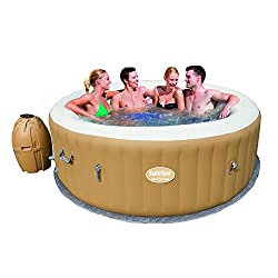 SaluSpa Palm Springs AirJet Inflatable 6-Person HotTub