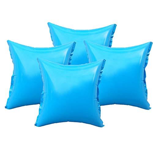 well2wellness Coussins gonflables d'hivernage pour Piscine Top Ventil et 4 Oeillets - 4 Coussins