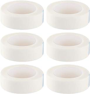 SUPVOX 12 Rolls Eyelash Tape Makeup Eye Pad Sticker Makeup Eyelash Tape Under Eye Patches Pads Medical Eyelash Tape