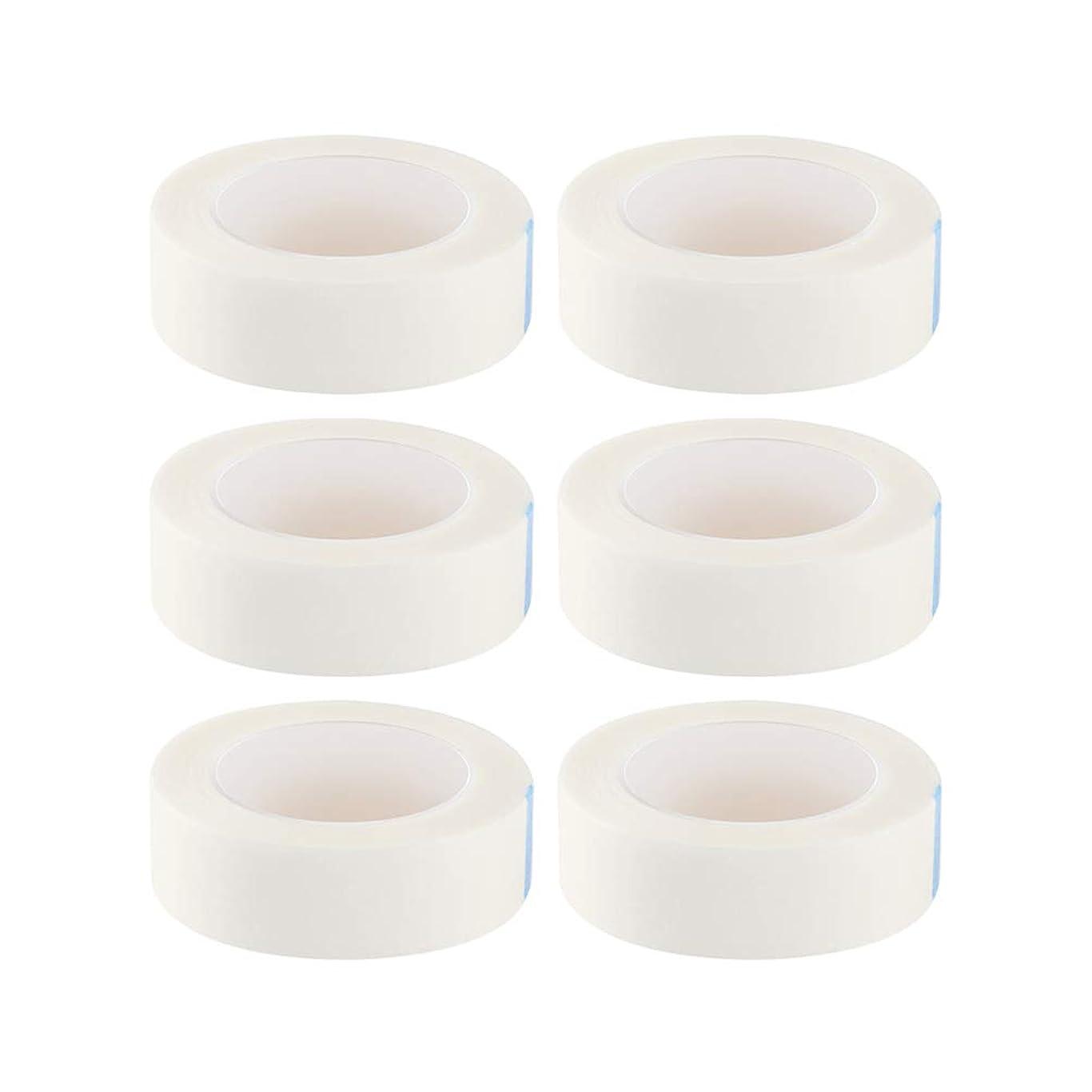 コンクリート敵意事業内容HEALIFTY まつげ絶縁テープまつげエクステサロン用ロール12個入り(白)