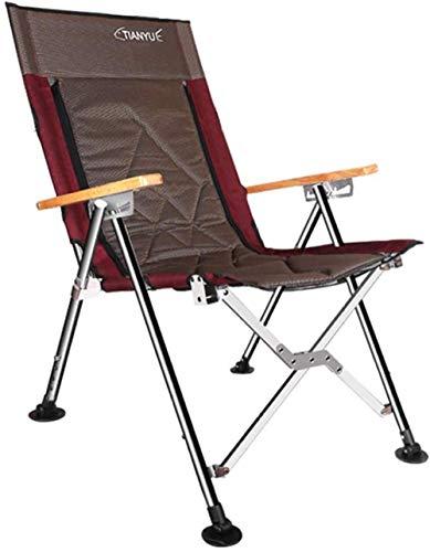 YYZZ Falten Sie tragbaren Angelstuhl Squatting Lounge Chair Outdoor Freizeit Camping Strandkorb Angelgerät 56X70X103cm