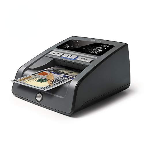 Safescan 185-S - Détecteur automatique de faux billets multidirectionnel pour Euro et dollar US pour la vérification à 100%