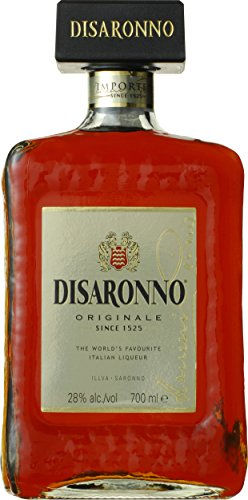 Licor italiano Amaretto Disaronno licor de almendrina - 1 botella de 70...