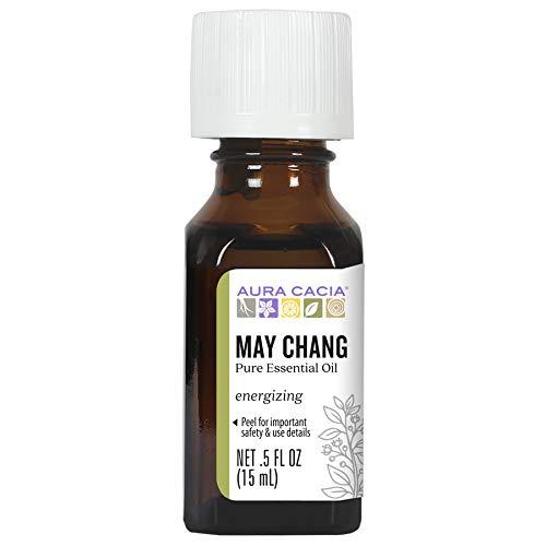 Aura Cacia May Chang Essential Oil | 0.5 fl. oz. | Litsea Cubeba