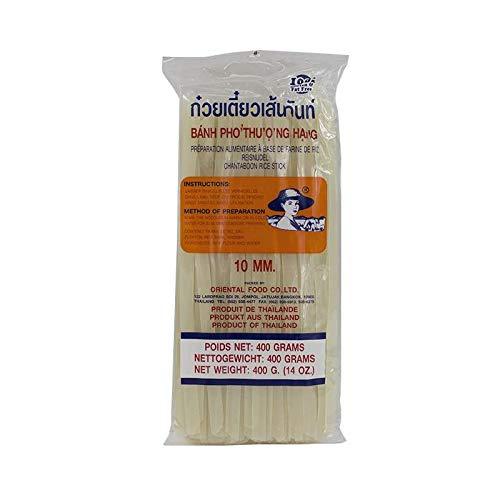 Noodles de arroz anchos - 400g