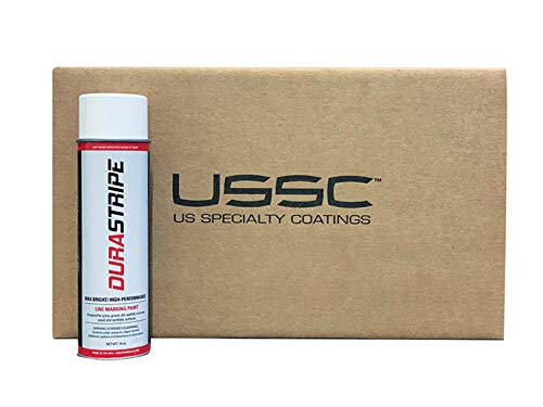 DuraStripe White (2 Pack Case) 24 Cans. Athletic Field Marking Paint. The Brightest, Whitest Most Durable line Marking Paint Available!