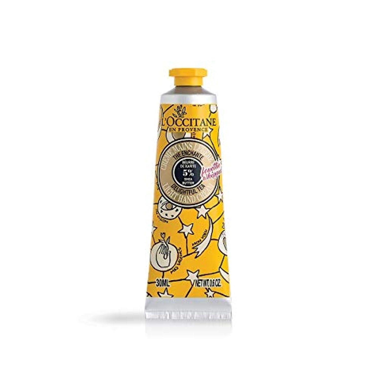 個性平和入浴ロクシタン(L'OCCITANE) ジョイフルスター スノーシア ハンドクリーム(ディライトフルティー) 30ml