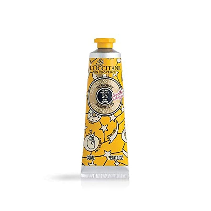 トリッキーインクテントロクシタン(L'OCCITANE) ジョイフルスター スノーシア ハンドクリーム(ディライトフルティー) 30ml