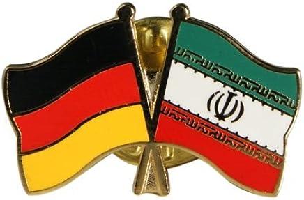 Flaggenfritze/® Freundschaftspin Deutschland Iran