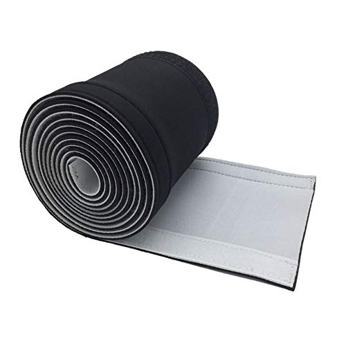 HIXISTO Cable Sleeves,Cubre Cables Durable Protective Ajustable Neopreno Inicio Cine Flexible Universal...