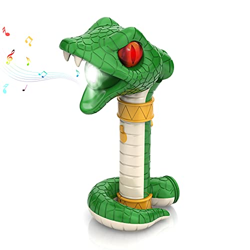 TIGTECGAME Rechargeable Kids Flashlight | Snake Shaped Halloween Toys | Best Christmas Birthday Gifts for 3 4 5 6+ Years Old Boys Girls