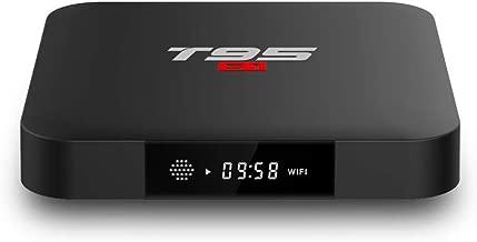 ESHOWEE T95 S1 Android 7.1 TV Box Amlogic S905W Quad-core 64 Bit DDR3 2GB RAM16GB ROM 4K UHD WiFi & LAN VP9 DLNA