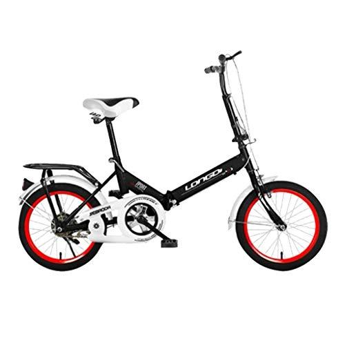 IFOUDNYOU Klapprad 20-Zoll Leichtes Mini Faltrad Kleines tragbares Fahrrad Erwachsener Student Citybike Florenz Amsterdam Hollandrad Retro-Design Kinderfahrrad