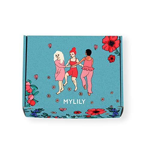 MYLILY® First Period Kit | Erste Periode Starter-Set | Aufklärung für junge Frauen* | Bio-Periodenprodukte, Aufklärungsbuch und vieles mehr