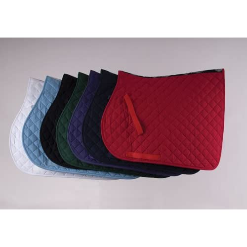 Rhinegold Cotton Quilted Horses Saddle Cloth