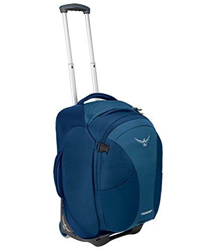 Osprey Packs Meridian 60L/22 Wheeled Luggage, Lagoon Blue