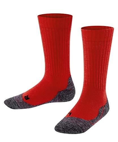 FALKE Active Warm Calcetines, niño Unisex, Rojo (Fire 8150), 23-26 (2-3 años)