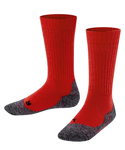 Falke Unisex Kinder Socken, Active Warm K SO -10450, fire, 27-30