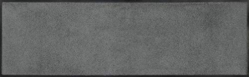 Wash + Dry Fußmatte, Polyamid, Grau, 35 x 120 cm