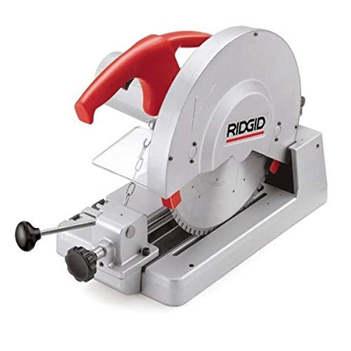 RIDGID 71687 614 Circular Saw, Dry Cut Saw Features Large 14-inch Carbide-Tipped Blades for Cutting Steel, Copper, Aluminum, Plastic or Wood