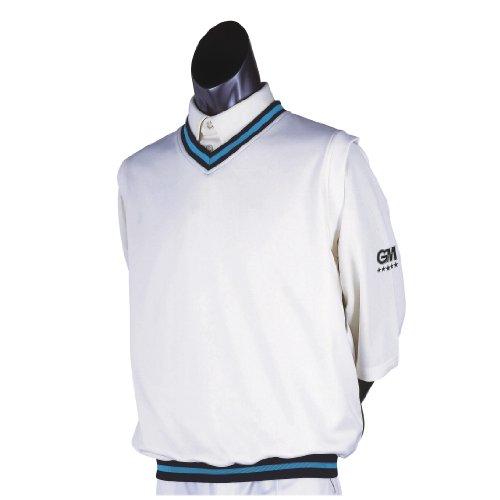 Gunn & Moore GM Teknik Cricket-Slipper Marineblau/himmelblau, groß