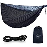 onewind Hammock Mosquito Net Bottom Entry–126'x 52'- Fits All Single & Double Camping Hammocks -Security from Bugs, Mosquitoes, No See Ums,Spiders & Pesky Bugs -Lightweight Compact Easy Setup
