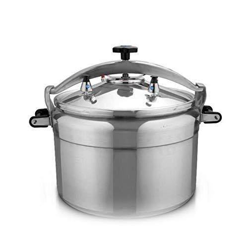 Aluminiumlegering snelkookpan, beschermkap druk type snelkookpan, multifunctionele explosieveilige snelkookpan, huishoudelijke koken wok, grote capaciteit commerciële snelkookpan 3L-80L