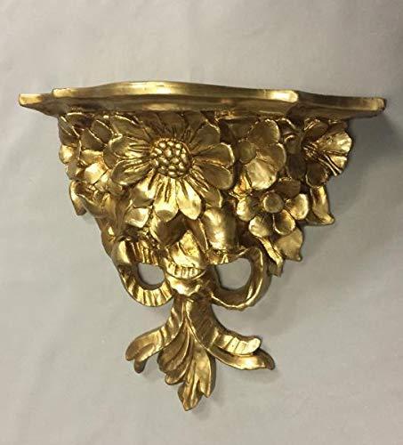 Artissimo Barock Konsole Wandkonsole Gold BAROCK Ablage ANTIK Regal cp81 28x12
