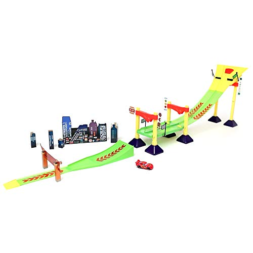 Disney Cars Neon Race-Off Track Set Multi