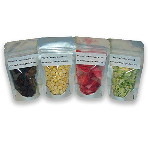 Mother Earth Products Organic Crunchy Variety Pack