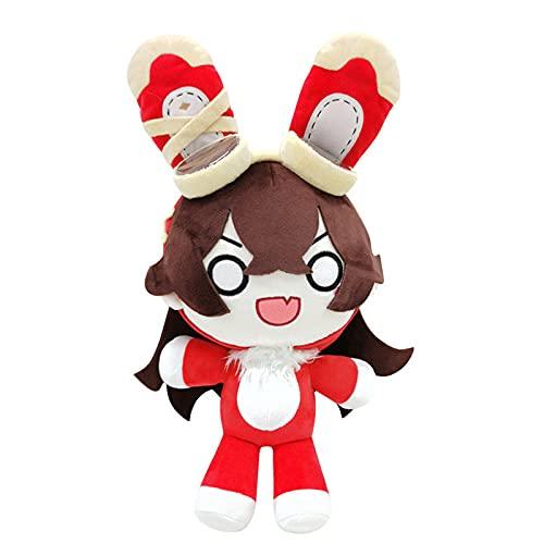 Anime Game Genshin Wirkung Niedlichen Kaninchen Bernstein Plüsch Stofft Puppe Kissen Spielzeug Dango Kissen Cosplay Geburtstagsgeschenke 40cm