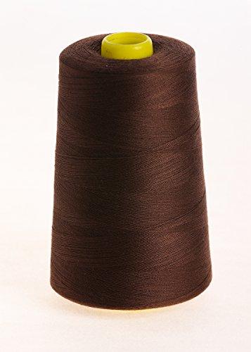 Sewing Supplies Direct Pied-de-biche marque mm filetage – surjet filetage – Fil à Coudre – 120 secondes Polyester filé – 4 x 5000 Yard bobines – Grande Variété De Couleurs, y compris noir, blanc, bleu, gris, marron, jaune, rouge, bleu marine, beige, crème, vert, rose et violet.