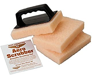 Aero Cosmetics Bug Remover Bug Scrubber RV Car Aircraft, Safe on Paint Will not Scratch Like Mesh Sponge or Bug Squeegee