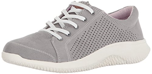 Dr. Scholl's Shoes Women's Fresh One Moccasin, Grey Microfiber, 6 M US