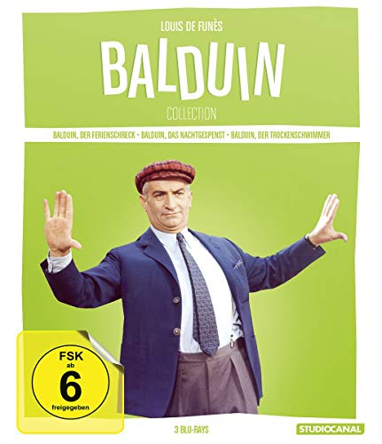 Louis de Funes - Balduin Collection [Blu-ray]
