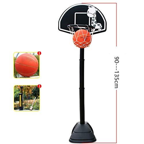 Best Price Portable Basketball Hoop,Kids Portable Basketball Hoop Adjustable Height Backboard,for In...
