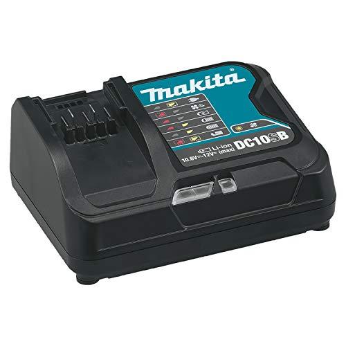 Makita Ladegerät DC10SB 197363-4 für 10,8V und 12V Li-Ionen Schiebe-Akkus