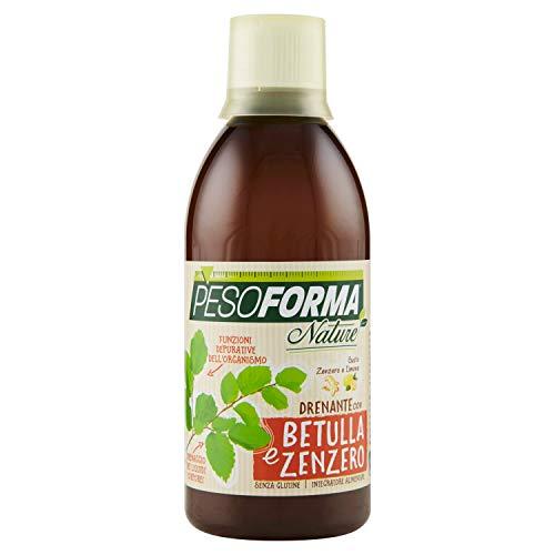 Pesoforma Nature Drenante Depurativo alla Betulla e allo Zenzero - Senza Glutine