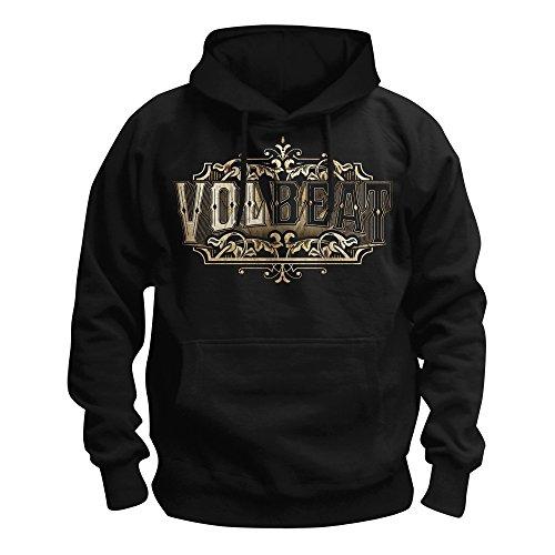 MAM Online Volbeat - Old Letters Kapuzenpullover, schwarz, Grösse XXL