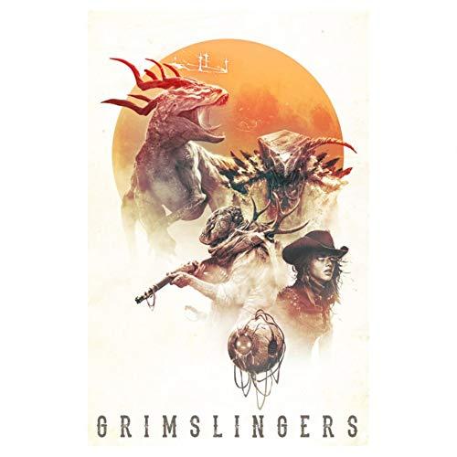 GreenBrier Games-Gioco di Carte Grimslingers, 4014GNE