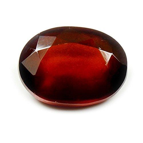 Jewelryonclick Hessonit Stein 5,5 Karat Granat Natur Original lose Edelstein
