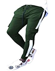 Pantalones De Lápiz para Hombres Pantalones De Cintura Media con Bolsillo Pantalón Ajustado De Pierna Recta Pantalones Ajustados Pantalón De Viga con Cordón M-3XL