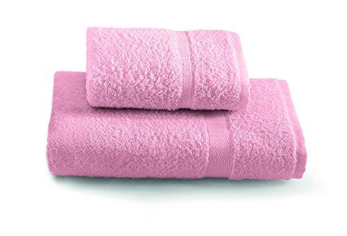 Gabel Tintunita & Co Set Asciugamani, 100% Cotone, Rosa, 100 x 60 cm