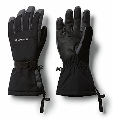 Columbia Guantes para hombre, M Whirlibird Glove, Nailon, Negro, Talla M, 1827671