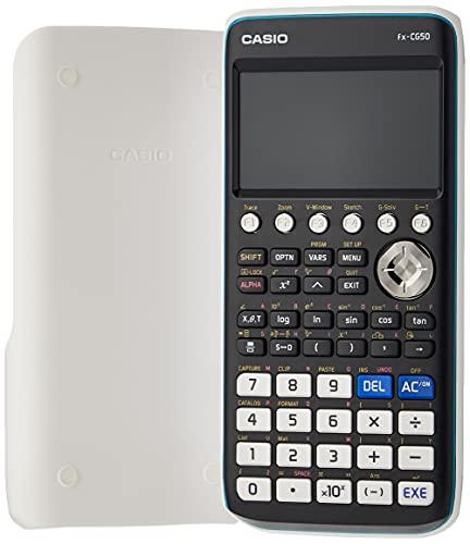 Casio FX-CG50, calcolatrice grafica con display a colori ad alta risoluzione (con Scatola Di Cartone)