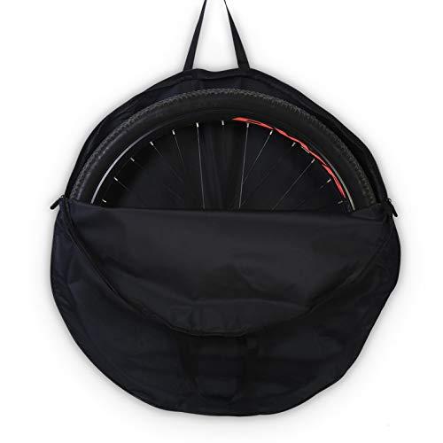 1 Pcs Bike Wheel Bag Waterproof Bicycle Wheel Carry Bag Travel Bicycle Wheelset Cover Bag for Mountain Bike