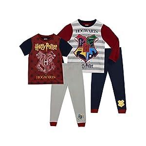HARRY POTTER Pijamas para Niños 2 Paquetes Hogwarts 43