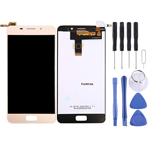 Mingxian Pantalla LCD y digitalizador Asamblea Completa for ASUS Zenfone 3s MAX / ZC521TL (Oro) (Color : Gold)