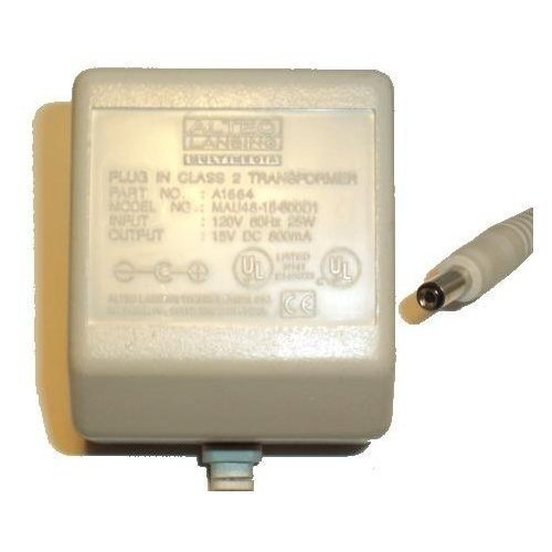 Altec Lansing - A1664 AC Adapter CB25 9 in - A1664