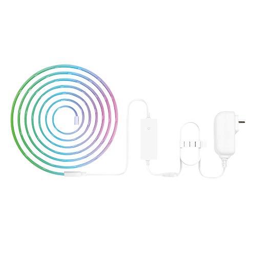 Woox luz inteligente, cable 5 metros RGB con adaptador (1pack)